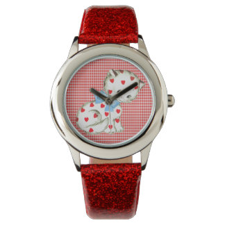 Gatito Kitschy Relojes De Mano