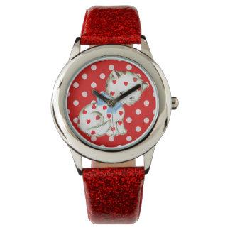 Gatito Kitschy Relojes De Pulsera