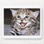 Gatito lindo alfombrilla de ratón