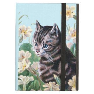 Gatito lindo - arte del gato del vintage