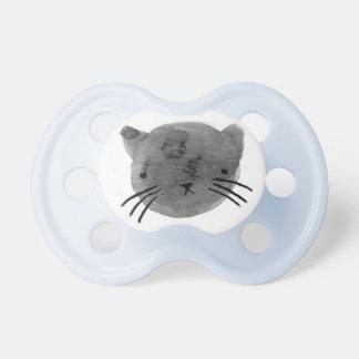 Gatito lindo - azul chupetes de bebé