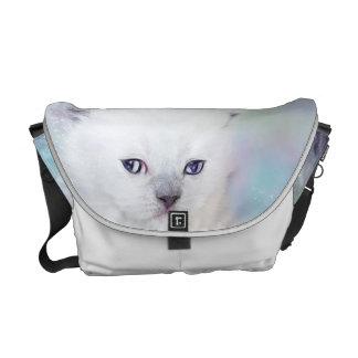 Gatito lindo bolsa messenger