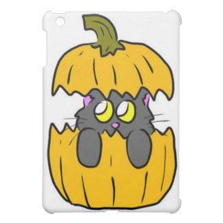 gatito lindo de la calabaza de Halloween