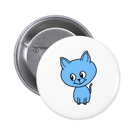Gatito lindo, en azul pin