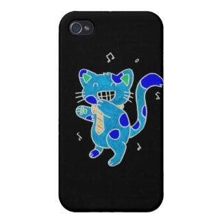 gatito lindo iPhone 4/4S fundas