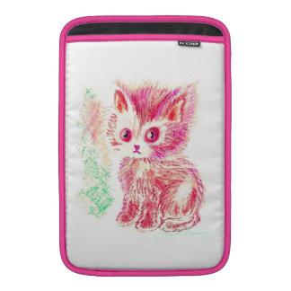 Gatito lindo funda macbook air