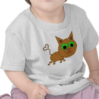 Gatito lindo camiseta