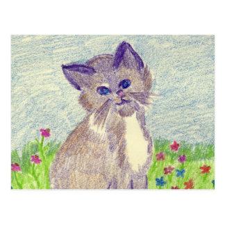 Gatito lindo postales