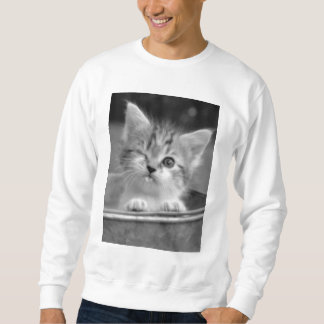 gatito lindo pull over sudadera