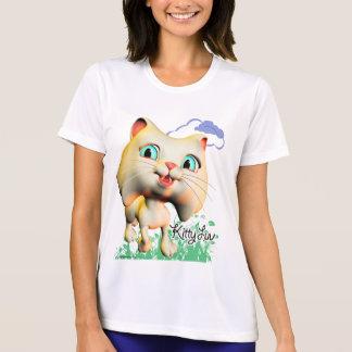 Gatito Luv - camiseta del funcionamiento