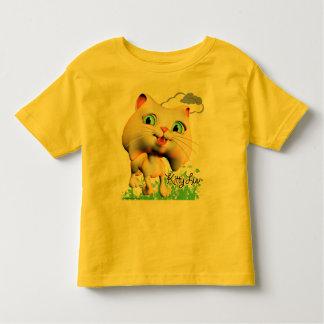 Gatito Luv - camiseta del niño Camisas