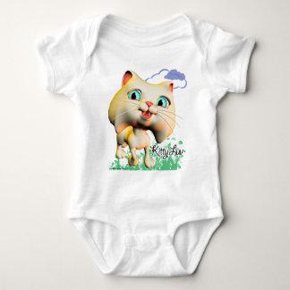 Gatito Luv - camiseta infantil de la enredadera Playeras