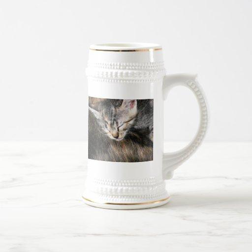 Gatito mimoso tazas de café