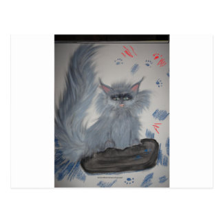 gatito mischeivious postal
