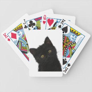 Gatito negro de Luna Bella Baraja De Cartas