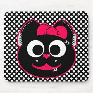 Gatito punky de KiKi Mousepad