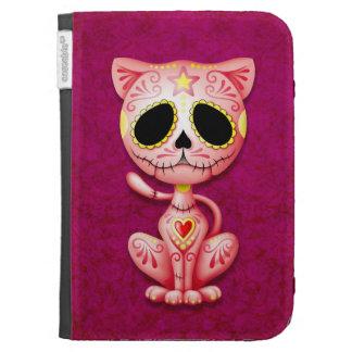 Gatito rosado del azúcar del zombi