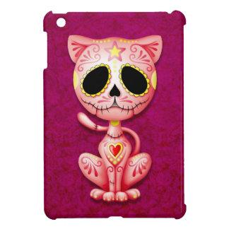 Gatito rosado del azúcar del zombi iPad mini carcasas