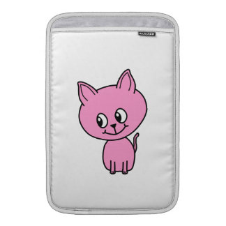 Gatito rosado funda para macbook air