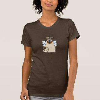 gatito santo camiseta