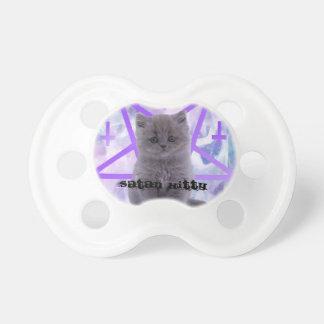 gatito satan chupetes para bebés
