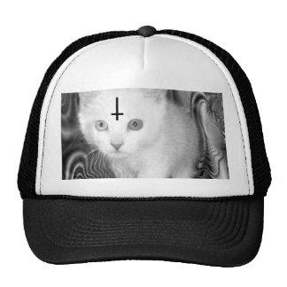 gatito satan gorra