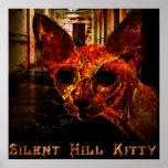 Gatito silencioso de la colina poster