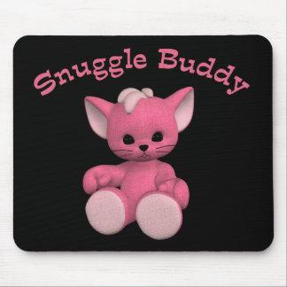 Gatito Toon Mousepad del compinche del Snuggle