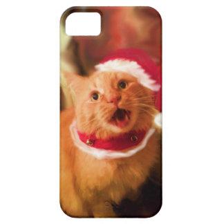 Gatitos 1 del navidad funda para iPhone SE/5/5s