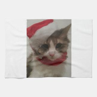Gatitos 2 del navidad toallas