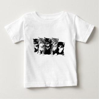 Gatitos 3 playera para bebé