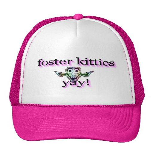 ¡Gatitos adoptivos. .yay! gorra del camionero