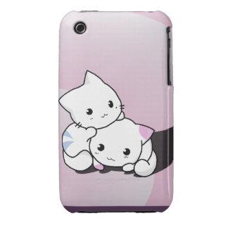 Gatitos adorables Case-Mate iPhone 3 funda