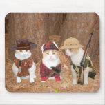 Gatitos de la aventura alfombrillas de raton