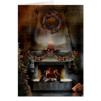 Gatitos de la noche del solsticio tarjeta de felicitación