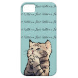 gatitos del amor iPhone 5 Case-Mate coberturas