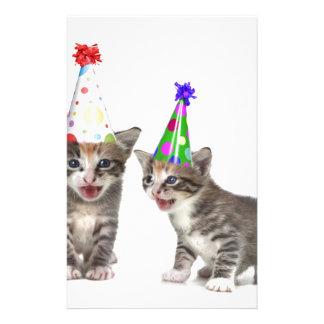 gatitos del cumpleaños papeleria de diseño