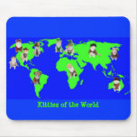 Gatitos del mundo tapetes de raton