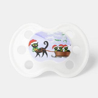 Gatitos del navidad de Purrr-fect Chupete