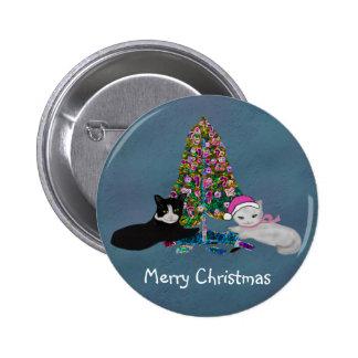 Gatitos del navidad pins