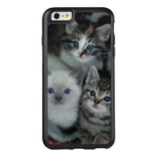Gatitos en una cesta funda otterbox para iPhone 6/6s plus