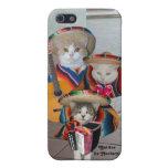 Gatitos/Gatitos de Mariachi del Mariachi iPhone 5 Funda