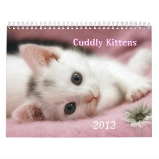 Gatitos mimosos calendario