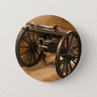 Gatlin Gun - Civil War Button