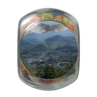 Gatlinburg Jelly Belly Candy Jar
