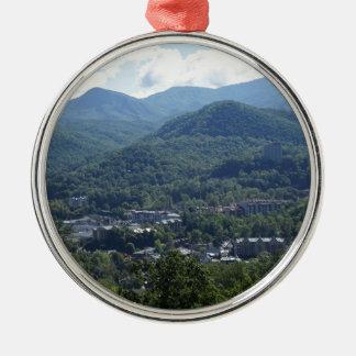 Gatlinburg Metal Ornament