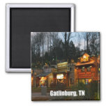 Gatlinburg, Tennessee Imán Cuadrado