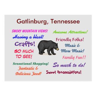 Gatlinburg Tennessee Postales