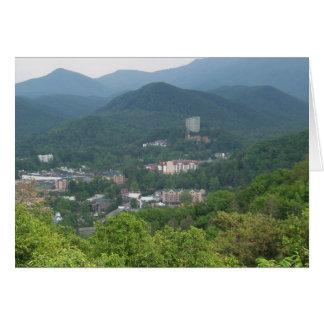 Gatlinburg, Tennessee Tarjeta De Felicitación