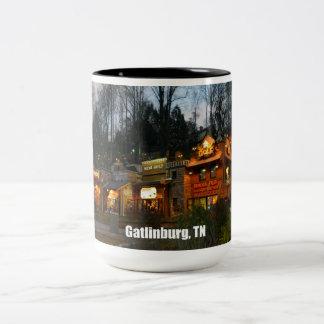 Gatlinburg, Tennessee Two-Tone Coffee Mug